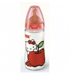 NUK BIBERON FC HELLO KITTY LATEX 1M 300 ML