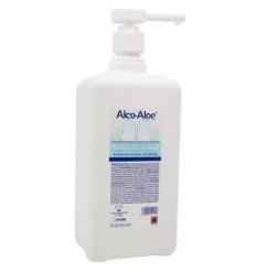 ALCO-ALOE GEL 500ML con bomba