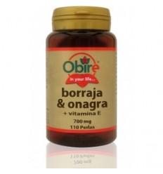 BORRAJA + ONAGRA 700 MG 110 PERLAS OBIRE