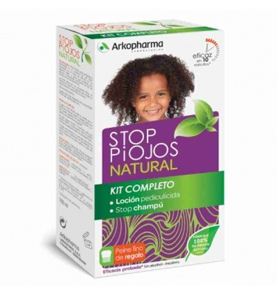 STOP PIOJOS NATURAL PACK