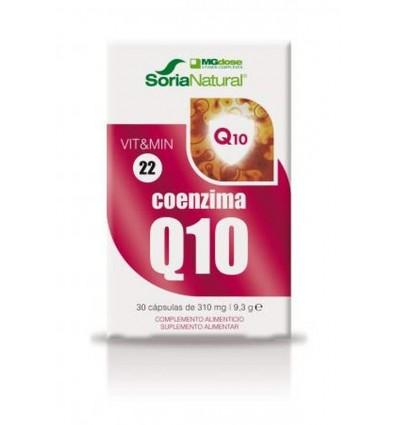 VITAMINA22 COENZIMA Q10 30 COMP SORIA NATURAL