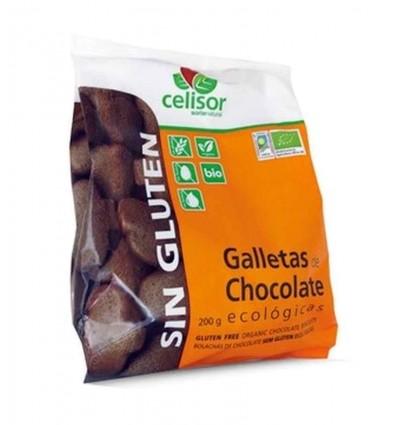 GALLETAS DE CHOCOLATE ECOLOGICAS SIN GLUTEN SN