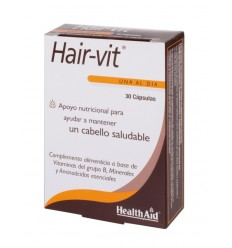 HAIR VIT 30 CAP HEALTH AID