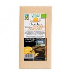 CHOCOLATE JENGIBRE-NARANJA 100 GR BIO VEGETALIA