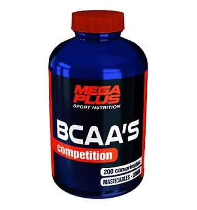 BCAA COMPETITION 200 COMP MASTICABLES MEGA PLUS