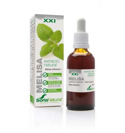 EXTRACTO MELISA XXI 50 ML SORIA NATURAL
