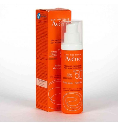 AVÉNE EMULSIÓN COLOR  SPF 50 +, 50 ML
