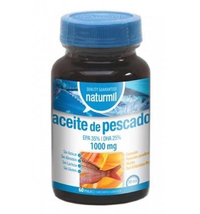 ACEITE DE PESCADO 1000MG 60 PERLAS NATURMIL