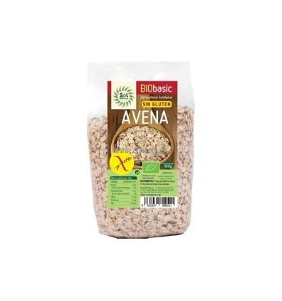 COPOS DE AVENA GRUESOS SIN GLUTEN 500GR SOL NATURAL