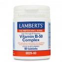 COMPLEJO VIT B 50 60 TAB LAMBERTS