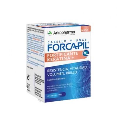 FORCAPIL FORTIFICANTE CON KERATINA 60CAPS ARKOPHA