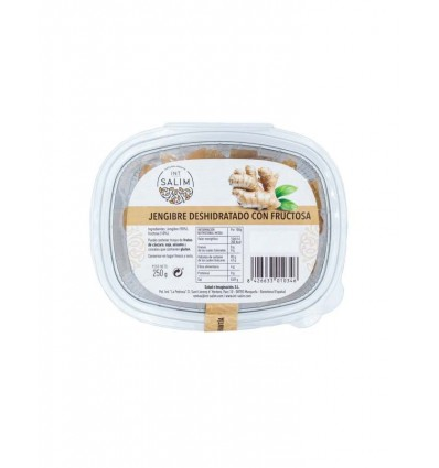 JENGIBRE CON FRUCTOSA 250GR INT SALIM